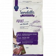 Корм для кошек «Sanabelle» Adult Straub, страус, 2 кг