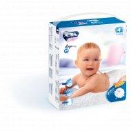 Подгузники детские одноразовые «Aura» размер 4L, 7-14 кг, 64 шт.