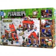 Конструктор «Zhe gao» Minecraft House 3 in 1, QL0553
