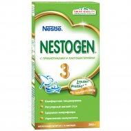 Напиток сухой молочный «Nestogen 3» с пребиотиками 350 г.