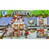 Конструктор «Zhe gao» Minecraft Winter House, QL0560
