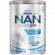 Смесь молочная сухая «NAN» безлактозная, с рождения, 400 г.
