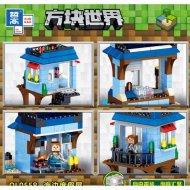 Конструктор «Zhe gao» Minecraft House by the Sea, QL0558