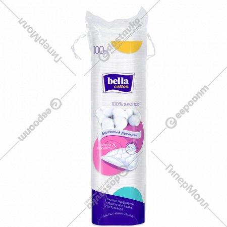 Ватные подушечки «Bella» cotton, 100 шт.