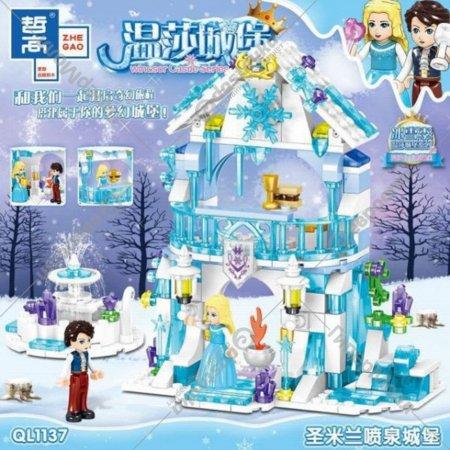 Конструктор «Zhe gao» Elsa's Ice Castle, QL1137