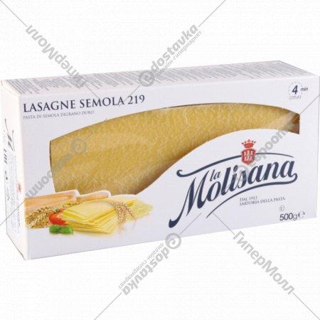 Макаронные изделия «La Molisana» лазанья 500 г.
