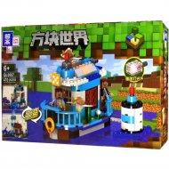 Конструктор «Zhe gao» Minecraft House on the River, QL0557