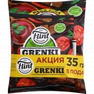 Гренки ржаные «Flint» томат спайси 110 г + 35 г.
