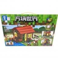 Конструктор «Zhe gao» Minecraft Lake House, QL0556