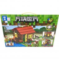 Конструктор «Zhe gao» Minecraft Lake House, QL0556