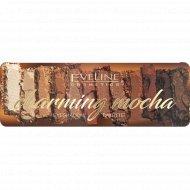 Палетка теней для век «Eveline» Charming mocha, 12 тонов, 12 г.