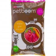 Корм для кошек «Petboom» с мясом и овощами, 400 г