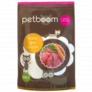 Корм для кошек «Petboom» с мясом и овощами, 400 г.