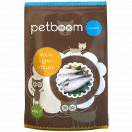Корм для кошек «Petboom» с рыбой, 400 г.