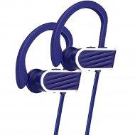 Беспроводные наушники «Hoco» ES7 синий.