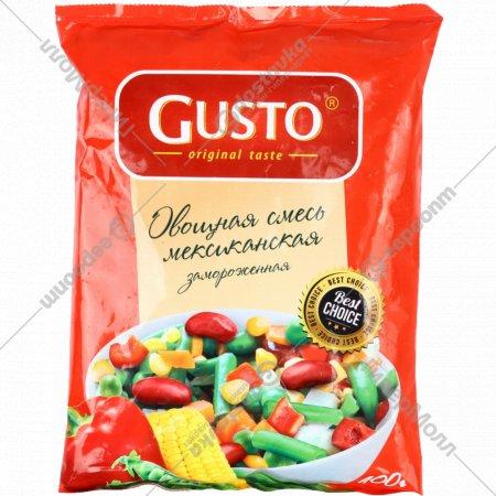 Овощная смесь «Gusto» мексиканская, замороженная, 400 г.