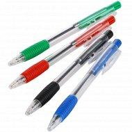Набор ручек шариковых автоматических, 4 цвета.