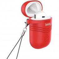 Bluetooth-гарнитура «Hoco» E39 белый, красный