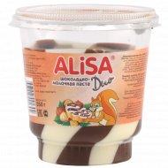 Паста «Alisa Duo» шоколадно-молочная, 350 г.
