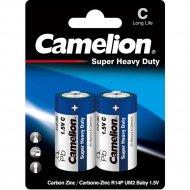 Комплект батареек «Camelion» R14 Blue BL-2, 2 шт