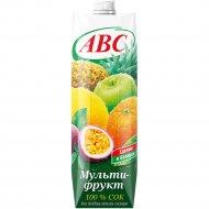Сок «АВС» мультифруктовый, 1 л.