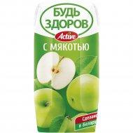 Нектар «Будь здоров!» яблочный, 0.2 л.