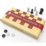 Игра настольная «Шашки-Шахматы»