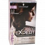 Краска-мусс «Color Expert» 3.0 черно-каштановый.