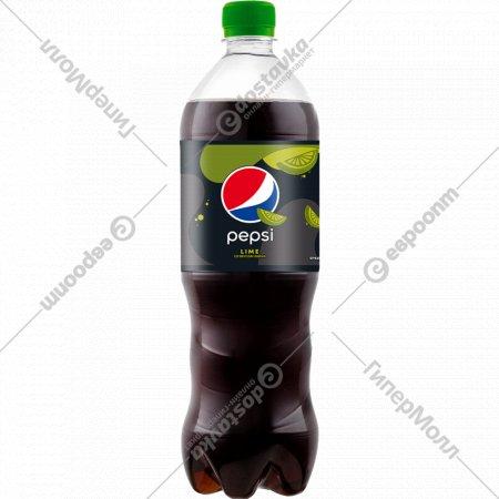 Напиток газированный «Pepsi» со вкусом лайма, 1 л.