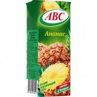 Нектар «АВС» ананасовый, slim, 0.2 л.