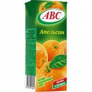 Нектар «АВС» апельсиновый, slim, 0.2 л.