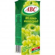 Нектар «АВС» яблочно-виноградный, slim, 0.2 л.