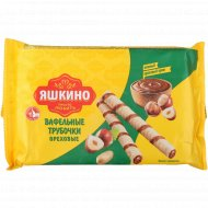 Вафельные трубочки «Яшкино» ореховые, 190 г.