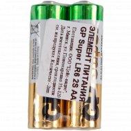 Элемент питания «GP Super» LR6, 2S, AA.
