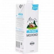 Молоко питьевое «Ле шале» стерилизованное, 2.5%, 1 л.