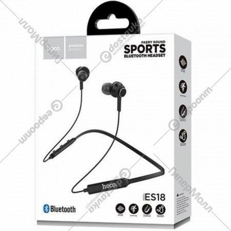 Беспроводные Bluetooth-наушники «Hoco» ES18 с микрофоном.