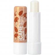 Бальзам-уход для губ «Icare» lip balm almond, 4.4г.