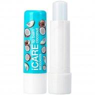Бальзам-уход для губ «Icare» lip balm coconut, 4.4г.