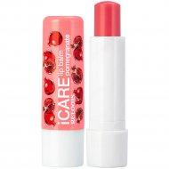 Бальзам-уход для губ «Icare» lip balm pomegranate, 4.4г.