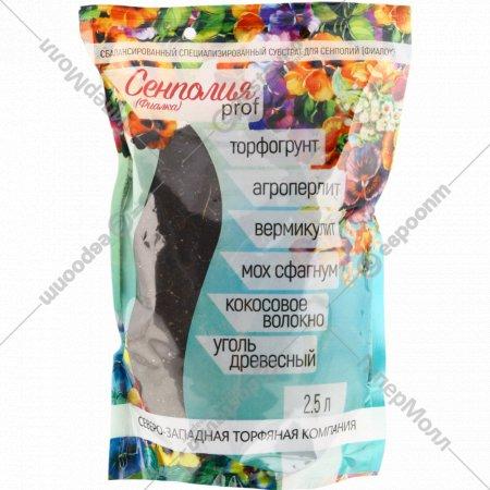 Субстрат для сенполий «Сенполия Prof» 2.5 л.