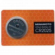 Элемент питания «Minamoto» Lithium CR2025, 1 шт.