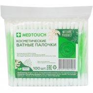 Ватные палочки «Medtouch» 100 шт