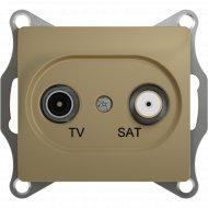 Розетка TV+SAT «Schneider Electric» Glossa, GSL000497