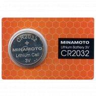 Элемент питания «Minamoto» Lithium CR2032, 1 шт.