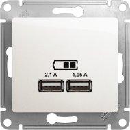 Розетка USB «Schneider Electric» Glossa, GSL000633