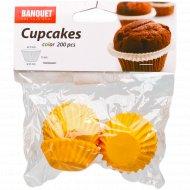 Набор форм для выпекания кексов, 3.5х1.5 см, 200 шт.