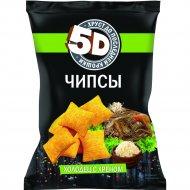 Чипсы пшеничные «5D» холодец с хреном, 85 г.