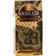 Чай черный «Basilur» золотой месяц листовой 100 г.