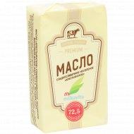 Масло сладкосливочное «Milkavita» Крестьянское, несоленое, 72.5%, 180 г