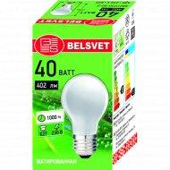 Лампа накаливания «Belsvet» Б 230-40-5.